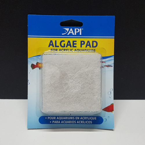 Tank pad cleaner for acrylic tanks